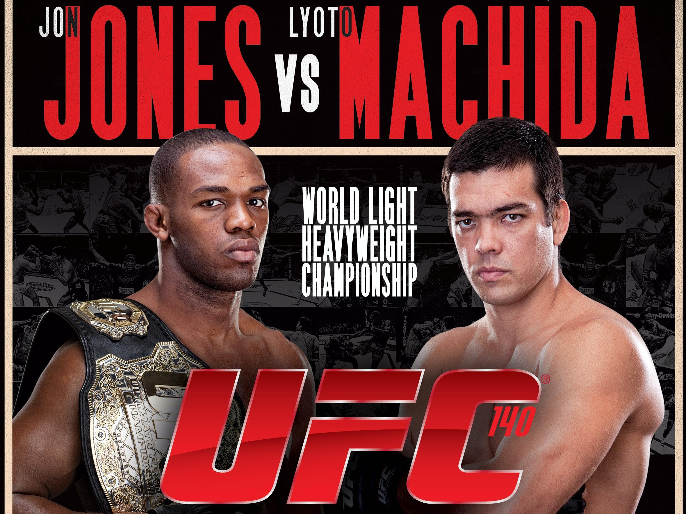 UFC 140: Jones vs. Machida